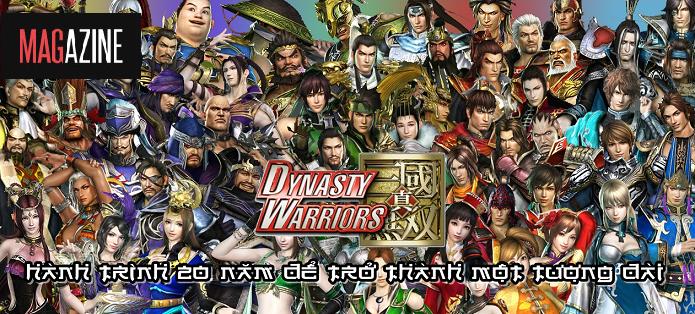 Dynasty Warriors - Hành trình 20 năm để trở thành một tượng đài
